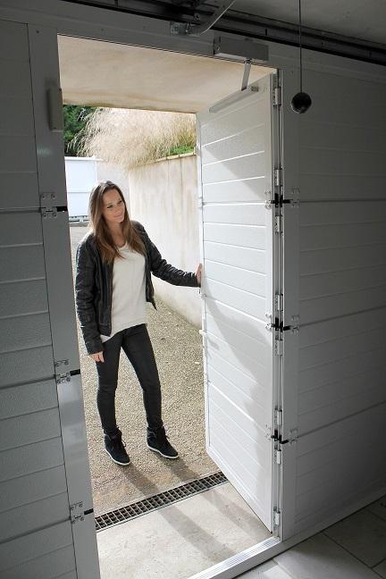 Fermetures industrielles open speed portes de garage for Porte de garage astec